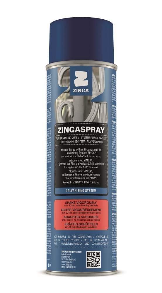 Can of ZingaSpray